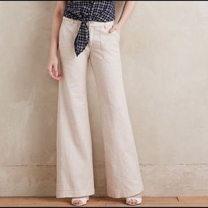 Anthropologie Pilcro | Wide Leg Pants | Size 0